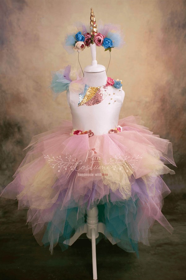 Pan Costume Unicorn My Little Pony Inspired Dress