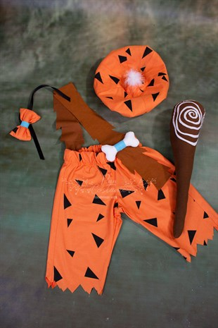 Bamm-Bamm Rubble Outfit for Boys