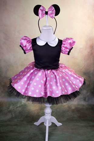 Minnie Mouse Pink Outfit