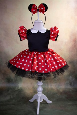 Minnie Mouse Red Outfit