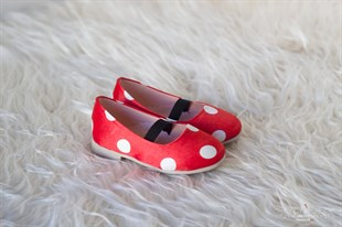 Minnie Mouse Red Girls Shoes