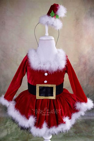 Miss Santa Claus Christmas Tutu Outfit