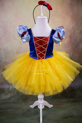 Snow White Mini Tutu Outfit