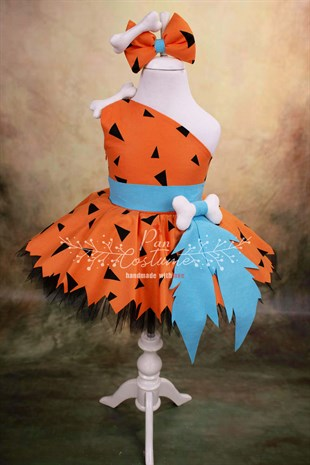 Pebbles Flintstone Outfit for Kids