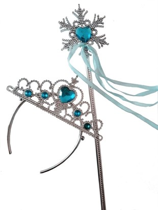Elsa Tiara and Wand