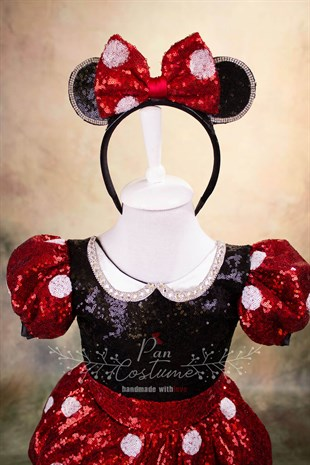 Pan Costume Fancy Minnie Mouse Outfit