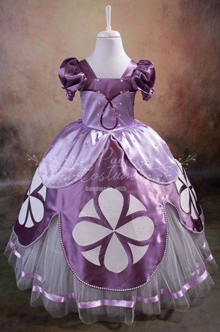Princess Sofia Dress for Girls
