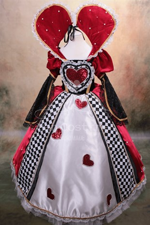 Queen of Hearts Dress For Girls