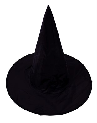 Black Witch Hat Standard Size