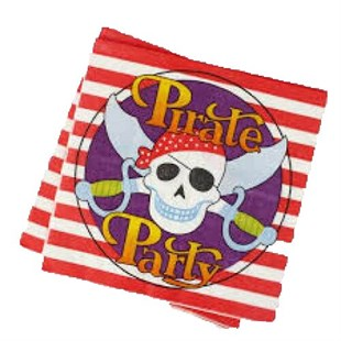 Pirate Party Napkins