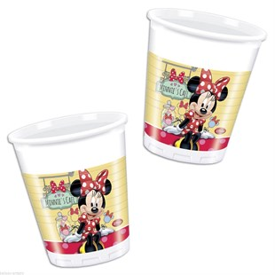 Minnie Mouse Disposable Party Glass Set of 8