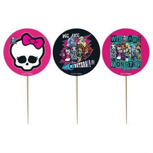 Monster High Party Appetizer Pick Set of 10