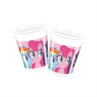 My Little Pony Disposable Party Glass Set of 8