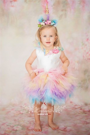 Unicorn My Little Pony Mini Tutu for Toddlers